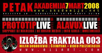"""""""Zoom In"""" Izložba Fraktala Milana Dobrojevića + Party"""