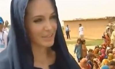 Anđelina i intervju na srpskom