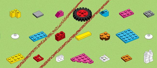 Lego šašava reklama