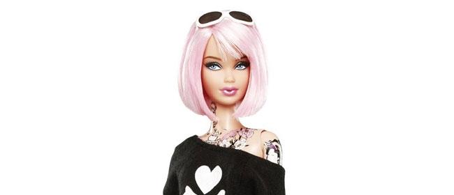 Istetovirana Barbika