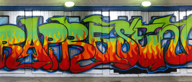 Novi grafiti na Novom Beogradu
