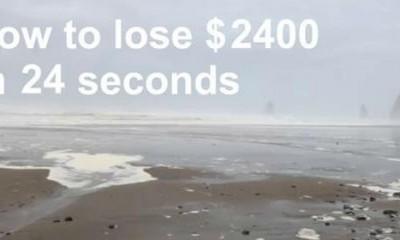 Kako da izgubite 2.400 dolara za 24 sekunde  %Post Title
