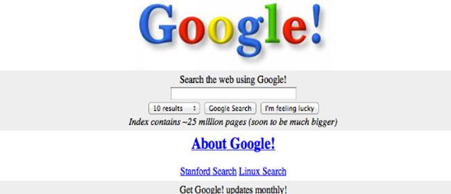 Kako je Internet izgledao