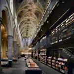 Retro moderna biblioteka u Holandiji