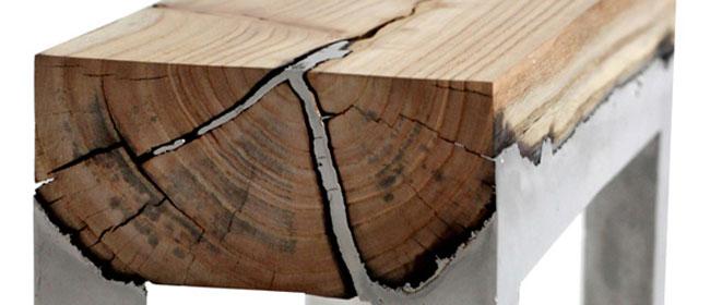 Tečni metal i drvo