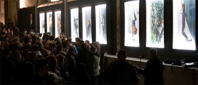Ulična galerija u Beogradu