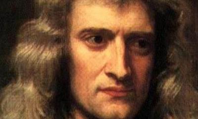 Isak Njutn kao holivudski junak  %Post Title