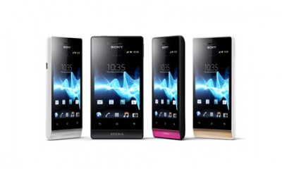 Novi Sony telefoni  %Post Title