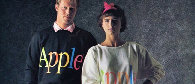 Apple odeća iz 86. godine