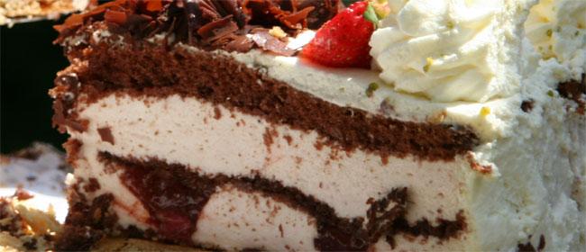Krem torta s kupinama