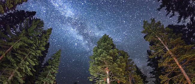 Noćno nebo snimljeno Canonom