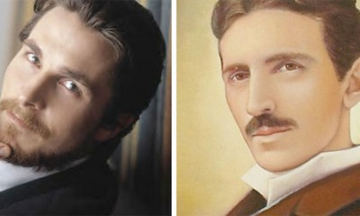 Kristijan Bejli kao Nikola Tesla