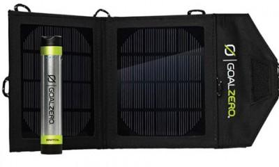 Solarni punjač za poneti