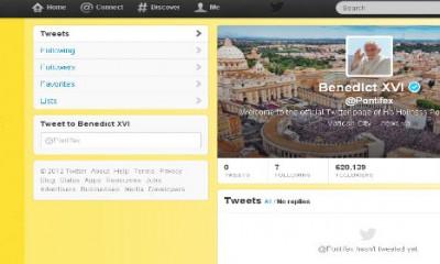 Papa počinje da tvituje  %Post Title