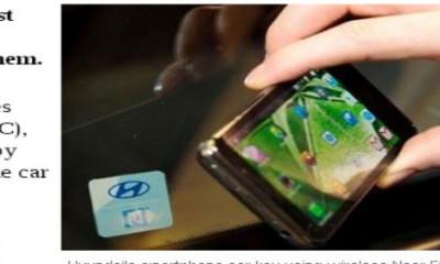 Hyndai predstavio smartfon-ključ za automobil  %Post Title