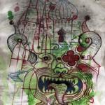Prodajna izložna ilustracija i crteža Nikole Milenova
