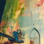 Crkva u grafitima