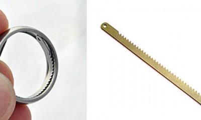 Titanijumski prsten za bežanje