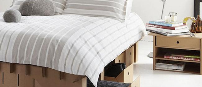 Krevet od kartona
