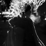 Crno bela zimska idila