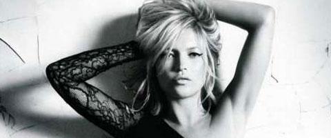 Kate Moss u crnom