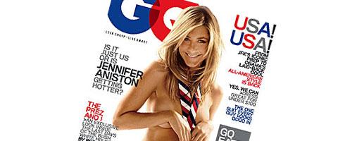 Gola Dženifer Aniston