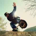 Snowboarding na asfaltu