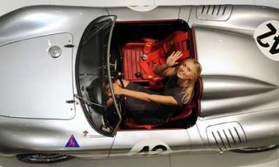 Marija Šarapova voli automobile