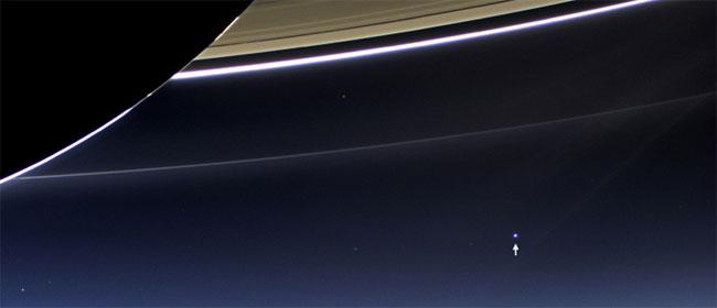 Kako izgleda Zemlja sa Saturna