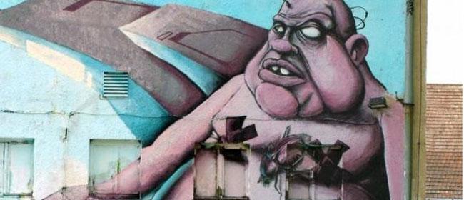 Sasvim drugačiji grafiti