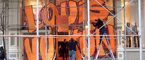 Grafiti i Louis Vuitton