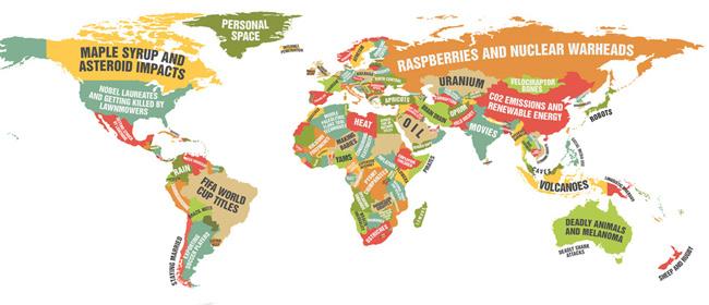 libija mapa sveta Najluđa mapa sveta koju ste videli   Domino magazin libija mapa sveta
