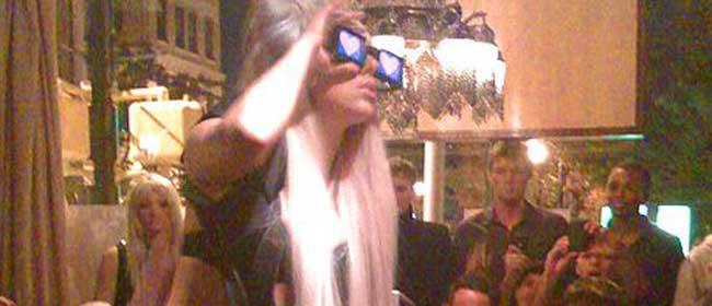 Lady Gaga gola na bini