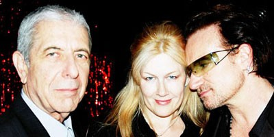 Madonna i Leonard Cohen u Holu slavnih