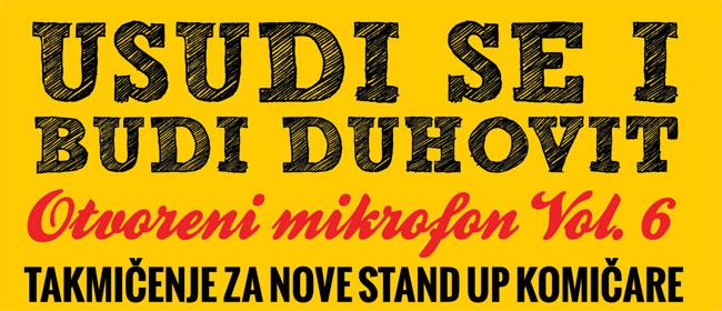 Konkurs za nove stand up komičare je otvoren