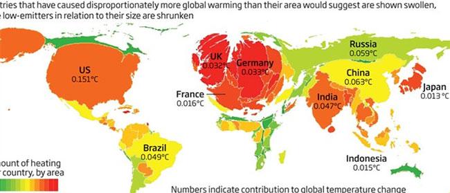 Ovo su krivci za globalno zagrevanje