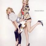 Eva Herzigova i Claudia Schiffer  %Post Title