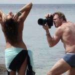 Iza kamere na Playboy snimanju