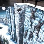 Zid iz Igre prestola na ulicama Londona