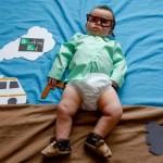 Beba kao likovi iz poznatih serija  %Post Title