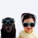 Dečak i pas su najbolji prijatelji