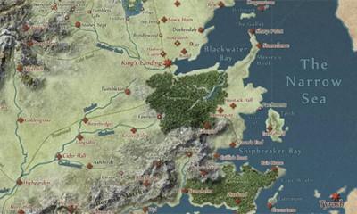 Ovo je kompletna mapa Igre prestola