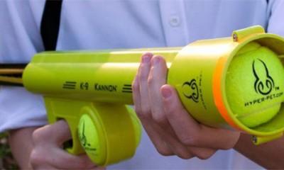 Puška za teniske loptice