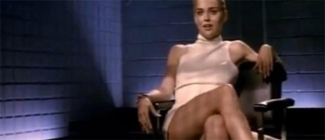 Sharon Stone nije znala kako će ispasti čuvena scena