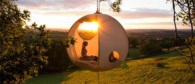 Šatori podignuti na viši nivo