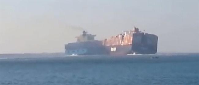 Sudar ogromnih brodova