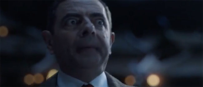 Mr Bean u reklami za Snickers
