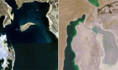 Presušilo jedno od najvećih jezera na svetu