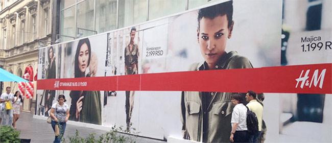 H&M otvara radnju u Knez Mihailovoj