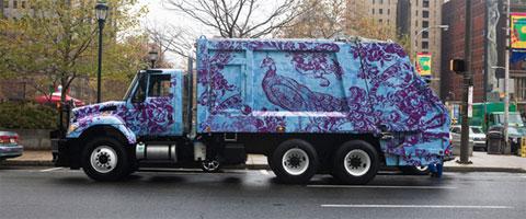 Kamioni za đubre i umetnost